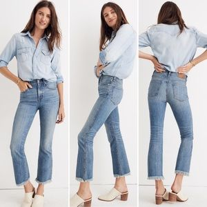 Madewell Cali Demi-Boot Jeans Comfort Stretch 25P